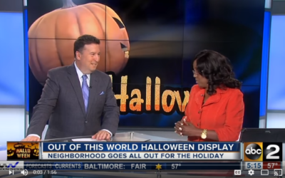One Baltimore County Community Goes Big For Halloween